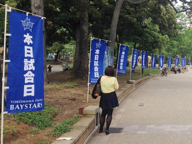 横浜ベイスターズのぼり旗01